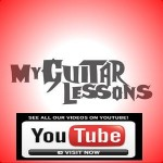 my guitar lessons youtube