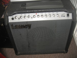 Loud practice amplifier