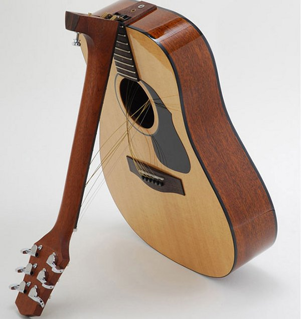 Folding Guitars Now Available For Travelling Musicians