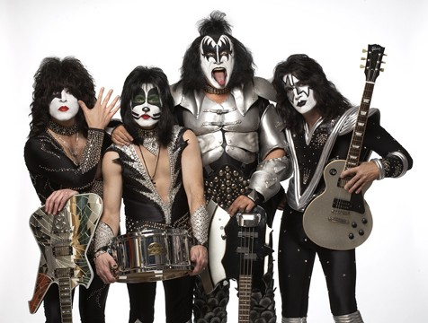 images of kiss the band