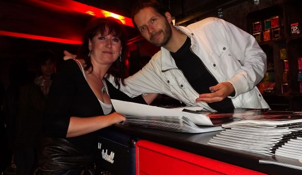 Paul Gilbert & Helena from My Guitar Lessons