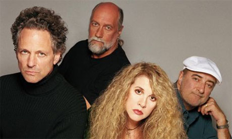Fleetwood Mac with ex guitarist Lindsey Buckenham