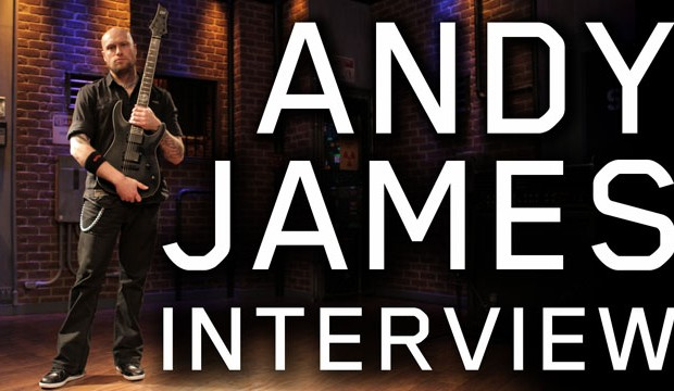 Andy James talks about adding notes to scales on the guitar
