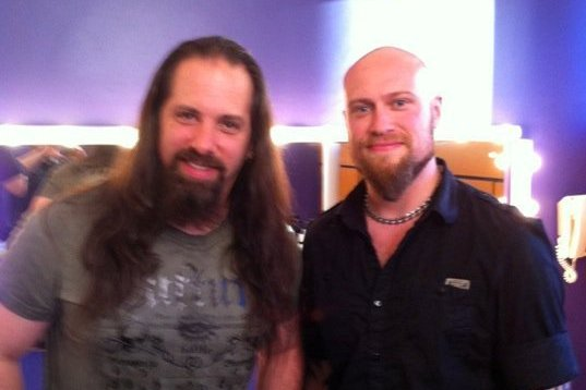 Andy with Dream Theatre Guitarist John Petrucci
