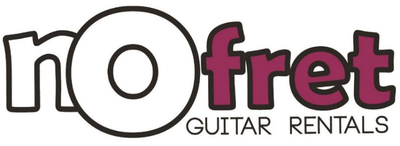 no fret guitar rentals