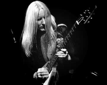 The great late guitarist Johnny Winter