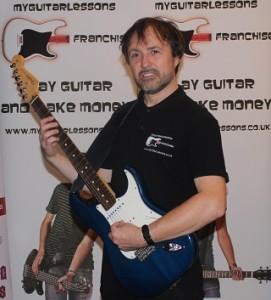 Guitar Teacher Shirt in black