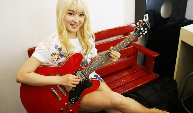 Enjoy playing guitar