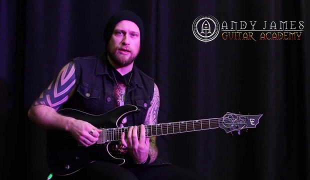 Andy James guitar lessons