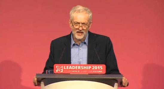 Jeremy Corbyn wins the leadership election 2015