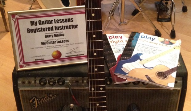 What you need to take to a guitar lesson